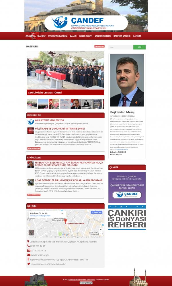 İstanbul Çankırı Dernekleri Federasyonu